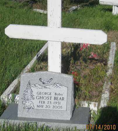 "GHOST BEAR, GEORGE  ""BOBO"" - Oglala Lakota County, South Dakota 