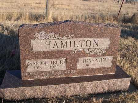 HAMILTON, MARIOM (BUD) - Oglala Lakota County, South Dakota | MARIOM (BUD) HAMILTON - South Dakota Gravestone Photos