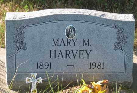 HARVEY, MARY  M. - Oglala Lakota County, South Dakota   MARY  M. HARVEY - South Dakota Gravestone Photos