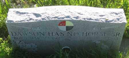 HAS  NO HORSE, SR, DAWSON - Oglala Lakota County, South Dakota | DAWSON HAS  NO HORSE, SR - South Dakota Gravestone Photos