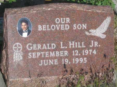 HILL, GERALD  L.  JR. - Oglala Lakota County, South Dakota | GERALD  L.  JR. HILL - South Dakota Gravestone Photos