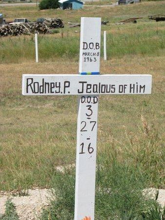 JEALOUS OF HIM, RODNEY P. - Oglala Lakota County, South Dakota | RODNEY P. JEALOUS OF HIM - South Dakota Gravestone Photos