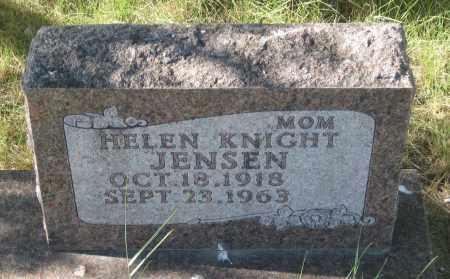 JENSEN, HELEN - Oglala Lakota County, South Dakota   HELEN JENSEN - South Dakota Gravestone Photos