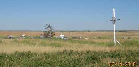 *KNIGHT CEMETERY, VIEW OF - Oglala Lakota County, South Dakota   VIEW OF *KNIGHT CEMETERY - South Dakota Gravestone Photos