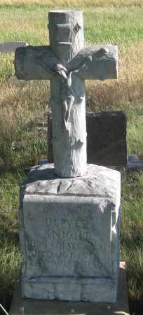 KNIGHT, OLIVER - Oglala Lakota County, South Dakota | OLIVER KNIGHT - South Dakota Gravestone Photos