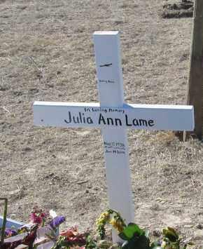 LAME, JULIE ANN - Oglala Lakota County, South Dakota | JULIE ANN LAME - South Dakota Gravestone Photos