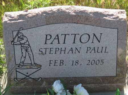 PATTON, STEPHAN PAUL - Oglala Lakota County, South Dakota | STEPHAN PAUL PATTON - South Dakota Gravestone Photos