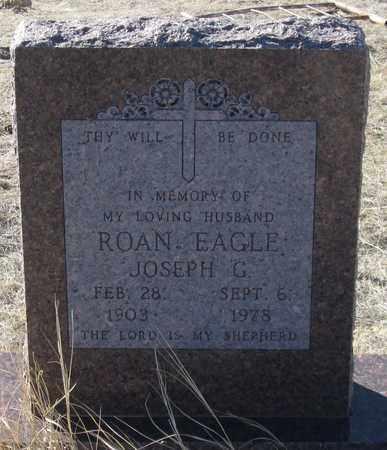 ROAN EAGLE, JOSEPH G. - Oglala Lakota County, South Dakota | JOSEPH G. ROAN EAGLE - South Dakota Gravestone Photos