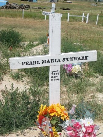 STEWART, PEARL MARIA - Oglala Lakota County, South Dakota | PEARL MARIA STEWART - South Dakota Gravestone Photos