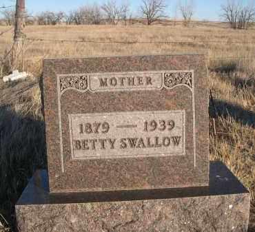 SWALLOW, BETTY - Oglala Lakota County, South Dakota | BETTY SWALLOW - South Dakota Gravestone Photos