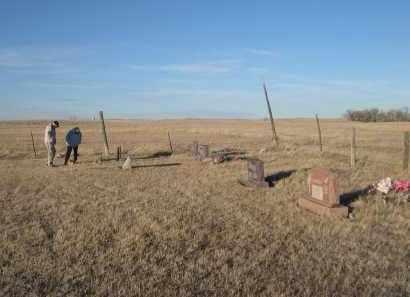 *SWALLOW FAMILY CEMETERY, VIEW OF - Oglala Lakota County, South Dakota   VIEW OF *SWALLOW FAMILY CEMETERY - South Dakota Gravestone Photos