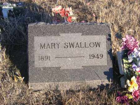 SWALLOW, MARY - Oglala Lakota County, South Dakota | MARY SWALLOW - South Dakota Gravestone Photos
