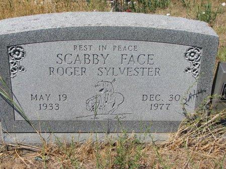 "SYLVESTER, ROGER ""SCABBY FACE"" - Oglala Lakota County, South Dakota | ROGER ""SCABBY FACE"" SYLVESTER - South Dakota Gravestone Photos"