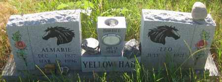 YELLOW HAIR, LEO - Oglala Lakota County, South Dakota | LEO YELLOW HAIR - South Dakota Gravestone Photos