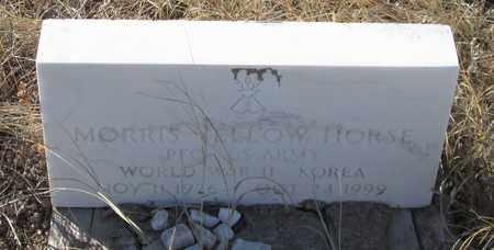 YELLOW HORSE, MORRIS - Oglala Lakota County, South Dakota   MORRIS YELLOW HORSE - South Dakota Gravestone Photos