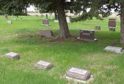 BINGER, FAMILY PLOT - Spink County, South Dakota   FAMILY PLOT BINGER - South Dakota Gravestone Photos