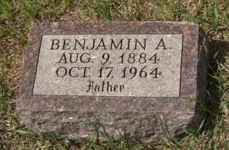 BINGER, BENJAMIN - Spink County, South Dakota   BENJAMIN BINGER - South Dakota Gravestone Photos