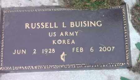 BUISING, RUSSELL LOWELL - Spink County, South Dakota | RUSSELL LOWELL BUISING - South Dakota Gravestone Photos
