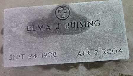 BUISING, ELMA J - Spink County, South Dakota | ELMA J BUISING - South Dakota Gravestone Photos