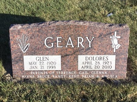 GEARY, GLEN - Spink County, South Dakota | GLEN GEARY - South Dakota Gravestone Photos