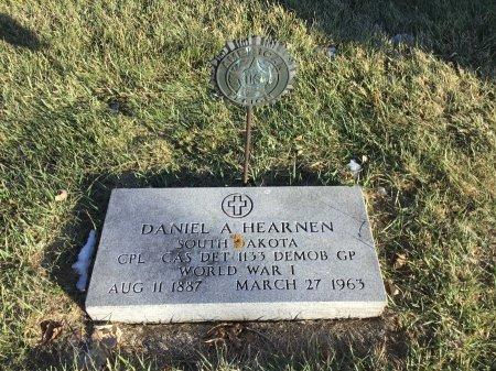 HEARNEN, DANIEL A. - Spink County, South Dakota   DANIEL A. HEARNEN - South Dakota Gravestone Photos
