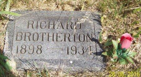 BROTHERTON, RICHARD - Stanley County, South Dakota | RICHARD BROTHERTON - South Dakota Gravestone Photos