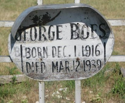 BOES, GEORGE (CLOSE UP) - Todd County, South Dakota | GEORGE (CLOSE UP) BOES - South Dakota Gravestone Photos