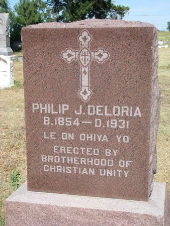 DELORIA, PHILIP J. - Todd County, South Dakota | PHILIP J. DELORIA - South Dakota Gravestone Photos