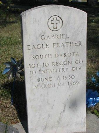 EAGLE FEATHER, GABRIEL - Todd County, South Dakota | GABRIEL EAGLE FEATHER - South Dakota Gravestone Photos