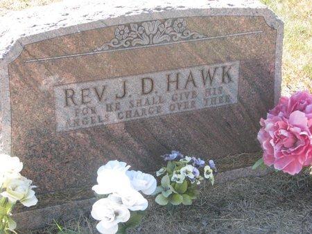 HAWK, J.D. (REV.) - Todd County, South Dakota | J.D. (REV.) HAWK - South Dakota Gravestone Photos