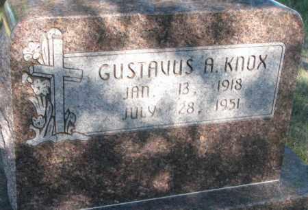 KNOX, GUSTAVUS A. - Todd County, South Dakota | GUSTAVUS A. KNOX - South Dakota Gravestone Photos