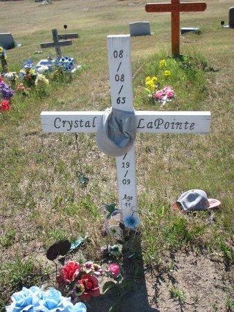 LAPOINTE, CRYSTAL LYNN - Todd County, South Dakota | CRYSTAL LYNN LAPOINTE - South Dakota Gravestone Photos