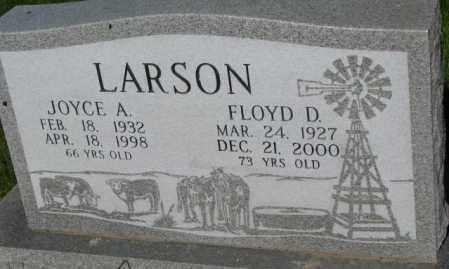 LARSON, JOYCE A. - Todd County, South Dakota | JOYCE A. LARSON - South Dakota Gravestone Photos