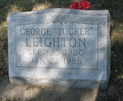 "LEIGHTON, GEORGE ""TUCKER"" - Todd County, South Dakota 
