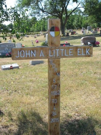 LITTLE ELK, JOHN ANTHONY - Todd County, South Dakota | JOHN ANTHONY LITTLE ELK - South Dakota Gravestone Photos