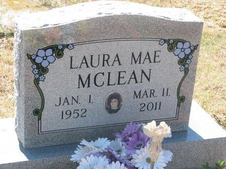 MCLEAN, LAURA MAE - Todd County, South Dakota   LAURA MAE MCLEAN - South Dakota Gravestone Photos