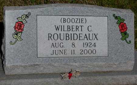"""ROUBIDEAUX, WILBERT C. """"BOOZIE"""" - Todd County, South Dakota 