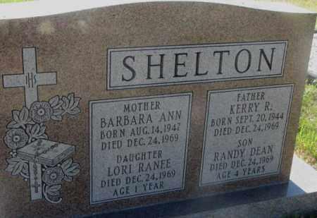 SHELTON, BARBARA ANN - Todd County, South Dakota | BARBARA ANN SHELTON - South Dakota Gravestone Photos