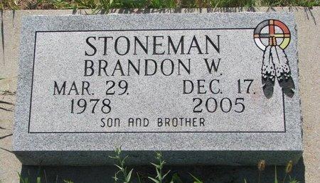 STONEMAN, BRANDON W. - Todd County, South Dakota | BRANDON W. STONEMAN - South Dakota Gravestone Photos