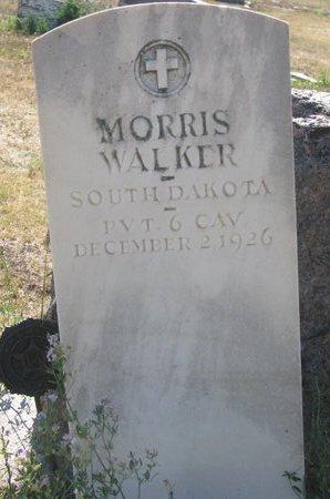 WALKER, MORRIS - Todd County, South Dakota   MORRIS WALKER - South Dakota Gravestone Photos