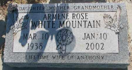 ROSE WHITE MOUNTAIN, ARMENE - Todd County, South Dakota | ARMENE ROSE WHITE MOUNTAIN - South Dakota Gravestone Photos