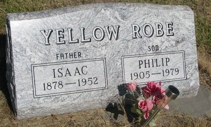 YELLOW ROBE, ISAAC - Todd County, South Dakota | ISAAC YELLOW ROBE - South Dakota Gravestone Photos