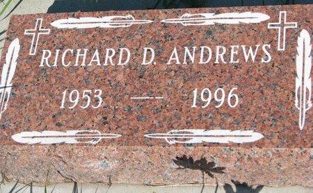 ANDREWS, RICHARD D. - Tripp County, South Dakota | RICHARD D. ANDREWS - South Dakota Gravestone Photos