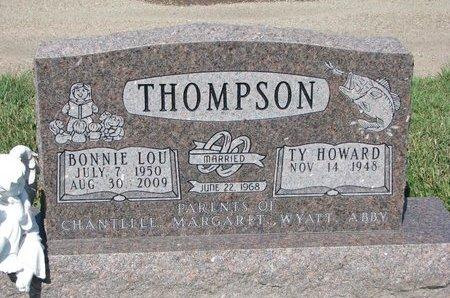 THOMPSON, TY HOWARD - Tripp County, South Dakota | TY HOWARD THOMPSON - South Dakota Gravestone Photos