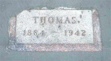 THOMPSON, THOMAS - Tripp County, South Dakota   THOMAS THOMPSON - South Dakota Gravestone Photos
