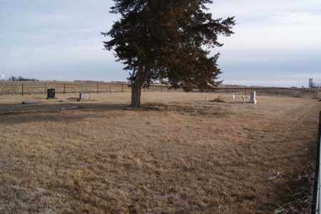 * DICK CEMETERY, WIDE VIEW - Turner County, South Dakota   WIDE VIEW * DICK CEMETERY - South Dakota Gravestone Photos