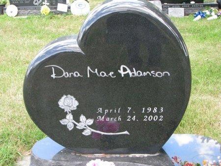 ADAMSON, DANA MAE - Turner County, South Dakota | DANA MAE ADAMSON - South Dakota Gravestone Photos