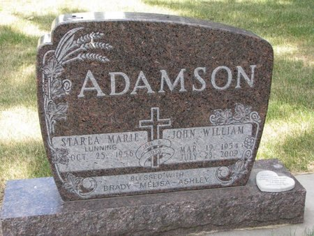 ADAMSON, STARLA MARIE - Turner County, South Dakota | STARLA MARIE ADAMSON - South Dakota Gravestone Photos