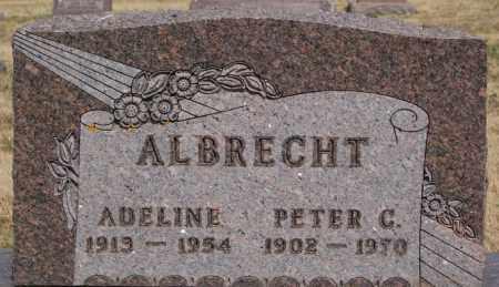 ALBRECHT, ADELINE - Turner County, South Dakota   ADELINE ALBRECHT - South Dakota Gravestone Photos