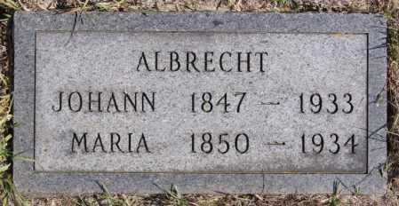 ALBRECHT, JOHANN - Turner County, South Dakota   JOHANN ALBRECHT - South Dakota Gravestone Photos